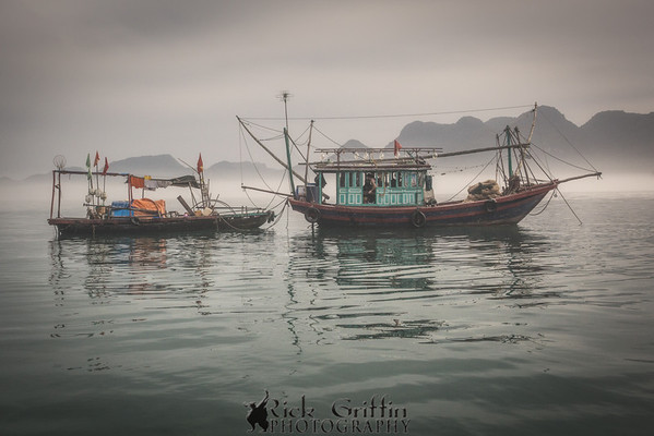 Misty Morning, Ha Long Bay, Viet Nam